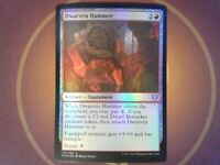 Foil Dwarven Hammer - Kaldheim - Magic the Gathering Mtg - Snow Red