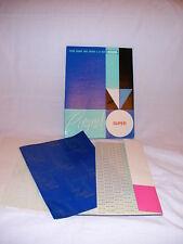 Lot 10 feuilles Papier carbone bleu main Copynet super A4 transfert carbon paper