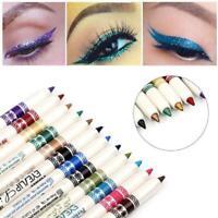 12 Pcs Professional Cosmetic Makeup Eyeliner Eye / Set Liner Lip Pencil Gli B3H0