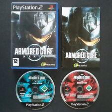 Armored CORE NEXUS Playstation ♔ 2 Reino Unido PAL inglés ・ ・ Mech de software completo ps