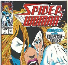 Marvel Comics Spider-Woman #1 vs Death-Web from Nov.1993 in VF- Condition DM