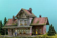 Diorama H0/1:87 Kibri Bahnhof Eisenbahnromamtik patiniert#Modellbau aus Potsdam