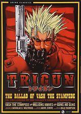Trigun: Complete Series Box Set Anime Classic (DVD, 2013, 4-Disc Set) Brand NEW!