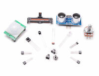 Electronics Pro Starter Input Kit Bundle of Sensors for Arduino or Raspberry Pi
