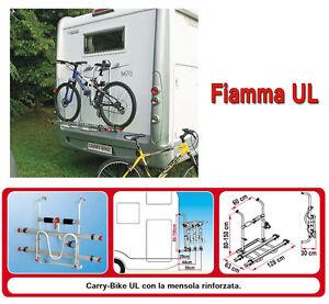 Serie di Bike Block Fiamma x Porta Bici Carry Bike Camper Roulotte caravan CAS
