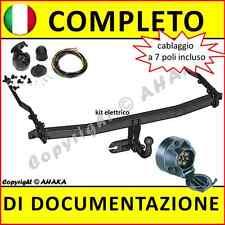 Gancio di traino fisso Renault Megane II Classic 2003- + kit elettrico 7-poli