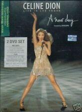 2 DVD SET CELINE DION LIVE IN LAS VEGAS SEALED NEW