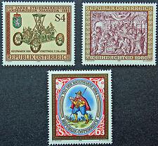 AUTRICHE timbre - Yvert et Tellier n°1697 à 1699 n** stamp Austria (cyn5)