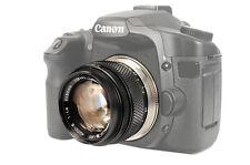 Adattatore Adattatore obiettivo si adatta a Olympus OM a Canon EOS Telecamere