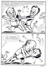 TELEROMPO  8 pag 11  Planche Originale-Bacio politico