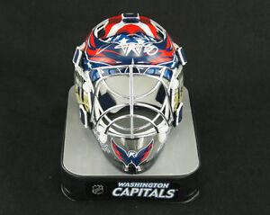 Semyon Varlamov SIGNED Wash Capitals Mini Helmet ROOKIEGRAPH PSA/DNA AUTOGRAPHED