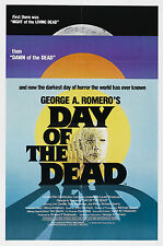 Day of the Dead - A4 Laminated Mini Movie Poster
