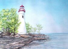 Marblehead Lighthouse on Lake Erie, Great Lakes 2
