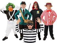 BOYS SCHOOL BOOK WEEK FANCY DRESS COSTUME CHOOSE STYLE CHILD'S WORLD BOOK DAY