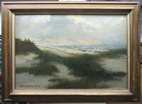 Robert P. Wheeler Cape Cod Shore & Dunes Ptg Listed Cape Cod Marine Artist
