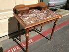 Small+Antique+French+Table.+Marble+Top%2C+Nicely+Carved%2C++With+3+Drawers