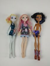 Monster High Doll Lot of 3 Lagoons Blue, Viperine Gorgon, Robecca Steam