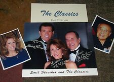 The CLASSICS Autographed Photo & Photos- REAL Collectible