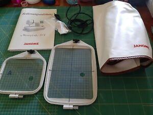 Janome Memory Craft 350E Näh-Stickmaschine