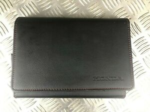HONDA CR-V MK4 2011 - 2016 HAND BOOK MANUAL SERVICE AND LEATHER CASE POUCH
