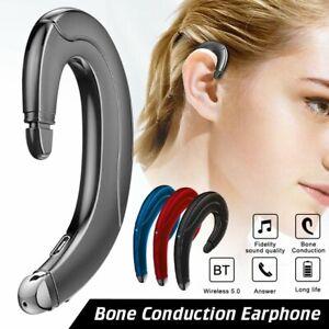 Bluetooth 5.0 Bone Conduction Earphone Wireless Headphone Stereo Sport Headset