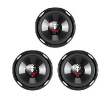 "3) NEW BOSS Phantom P106DVC 10"" 6300W DVC Car Audio Power Subwoofers Subs 4 Ohm"