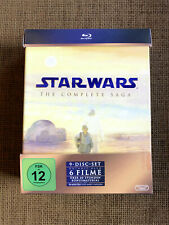 Star Wars: The Complete Saga (9-Disc-Set) Blu-ray Collection