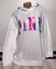Victoria's Secret Pink Triumph White Multicolor Crossover Tunic Sweater - Large