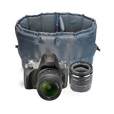 Small Insert Padded Camera Bag to carry a DSLR Camera, 1 standard lens