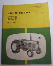 John Deere Dieselschlepper 3120 Betriebsanleitung