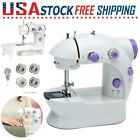 Household Electric Sewing Machine Desktop Portable Tailor 2 Speed W  Foot Pedal