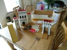 WOODEN CASTLE PARTS, KING WILLIAMS CASTLE - MADE IN PETERSFIELD, ENGLAND