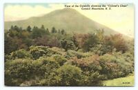 Vintage 1930s Catskill Mountains New York NY Showing Colonels Chair Postcard E21