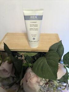 REN V-Cense Revitalising Night Cream 30ml sealed no box