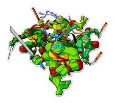 "Teenage Mutant Ninja Turtles Vynil Car Sticker Decal   9"""
