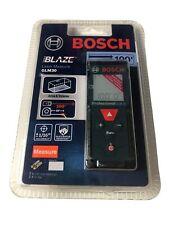 Bosch Blaze 100 Ft Laser Distance Area Volume Measuring Tool Glm30 Brand New