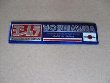 Aufkleber Yoshimura Sticker Aluminium Motorradsport Auto-Tuning Motorcross