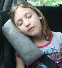 Travel Pillow Cushion Headrest Neck Support Car Seat Belt Comfortable Kids Rest