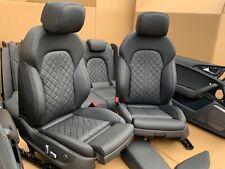 Audi A6 C7 4G S6 S-Line EXCLUSIVE Sport Lederausstattung Leder Sitze Seats NEUW