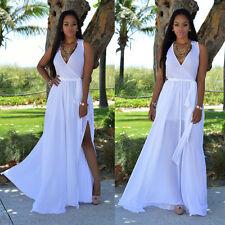Women Summer Long Maxi BOHO Evening Party Dress Beach Dresses Sundress