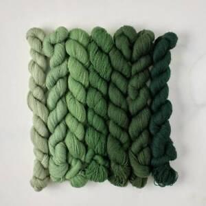 Appletons Crewel Wool Yarn – Sea Green 401 – 407 - 180m Full Hanks