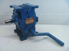 Delroyd gear reducer ratio 30 Model D-25