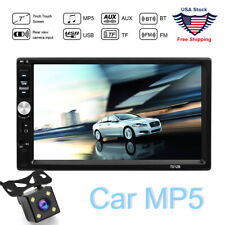 HD 2Din Touch Screen Car Stereo MP5 Player Radiofo For Android IOS USB/TF+Camera