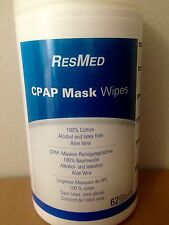 ResMed CPAP Mask Wipes 62 pack. Using a CPAP machine? Sleep Apnea mask cleaner