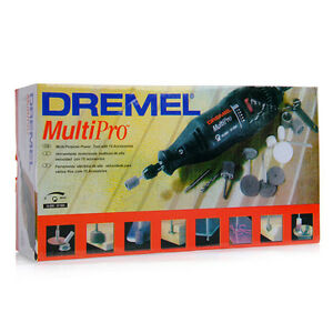 Dremel MultiPro Rotary Tool Grinder Mini Drill Set 110V/220V with 5PC Accessory