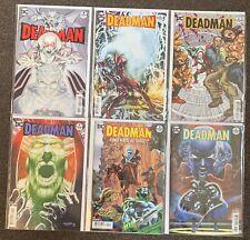 Deadman #1,2,3,4,5,6 DC Comics 2018 Neal Adams Complete Set Lot