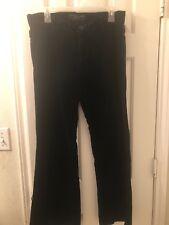Juicy Couture Jeans Black Velvet Pants Size 29