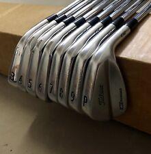 Titleist AP2/MB Forged 712 Irons 3-PW X100 X-Stiff Flex Steel Golf Club Set