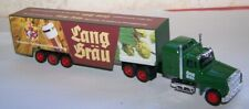 Lang-Bräu,Ford truck with trailer,Diecast/Plastic,Loose,S.1:87