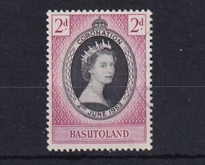 BASUTOLAND 1953 QEII Coronation SG 42 USED